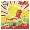 Arome concentré Strawberry Lemon Retro Juice - Big Mouth