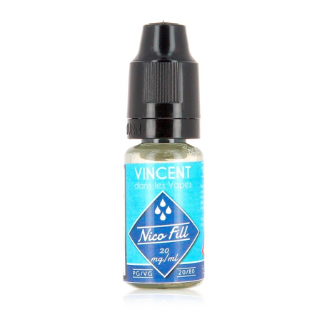 Booster nicotine 20mg PG 0 VG 100 Nico Fill VDLV 10ml