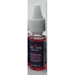 E-liquide Le Coq Premium Red Ice 10ml  - Le Coq qui Vape
