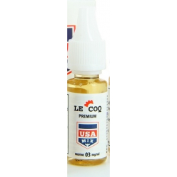E-liquide Le Coq Premium USA MIX  10ml  - Le Coq qui Vape