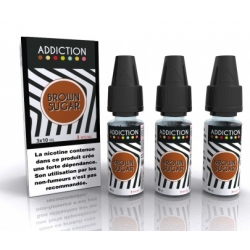 E-liquide Brown Sugar 3x10ml - Addiction