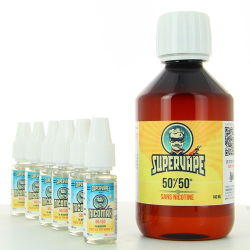Pack DIY Easy2Mix 50PG/50VG 200ml - Supervape