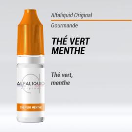 E-Liquide Thé vert menthe 10ml -  Alfaliquid