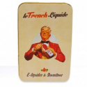 Boite Métal Pour E-Liquides french Barman - French Liquide