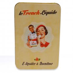 Boite Métal Pour E-Liquides french Madame - French Liquide