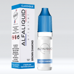 E-Liquide Brown Diamond 10ml - Alfaliquid