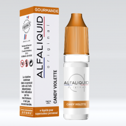 E-Liquide bonbon violette 10ml- Alfaliquid