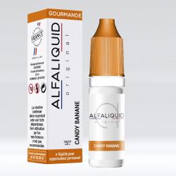 E-Liquide bonbon banane 10ml - Alfaliquid