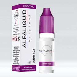 E-Liquide Sunny Fizz 10ml - Alfaliquid