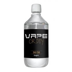Base 0mg 50%PG / 50% VG 1 litre - Revolute