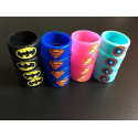 Bague silicone Dc comics 20/10mm