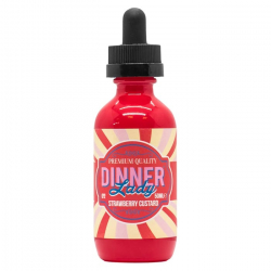 E-liquide Strawberry Custard 50ml - Dinner Lady