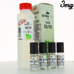 Pack base 50/50 260ml TPD FR - Extrapure