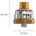 Atomiseur Tobhino BF RDA - Wismec