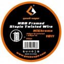 Fil résistif N80 Framed staple twisted wire - Geekvape