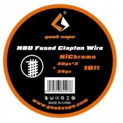 Fils résistifs N80 Fused Clapton - Geekvape