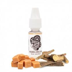 E-Liquid Caramel licorice - Fluid mechanics