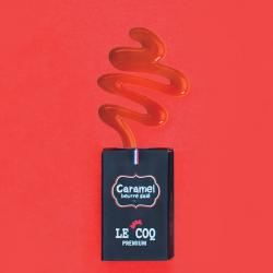 E-liquide Caramel Beurre Salé - Le Coq qui Vape