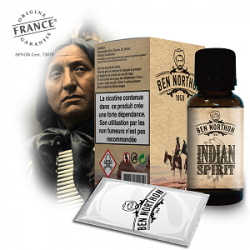E-liquide Indian spirit - Ben Northon