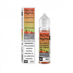 E-liquide Fuji apple strawberry nectarine 50ml - Pacha mama
