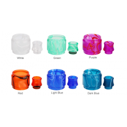 Pack Pyrex & Drip Tip Resin TFV8 Big Baby
