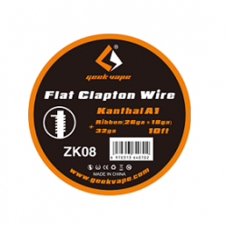 Fils résistifs Flat Clapton Wire - Geekvape