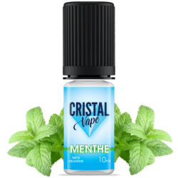 E-liquide Menthe - Cristal vape