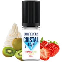 Arôme Fraise kiwi crème - Cristal vape