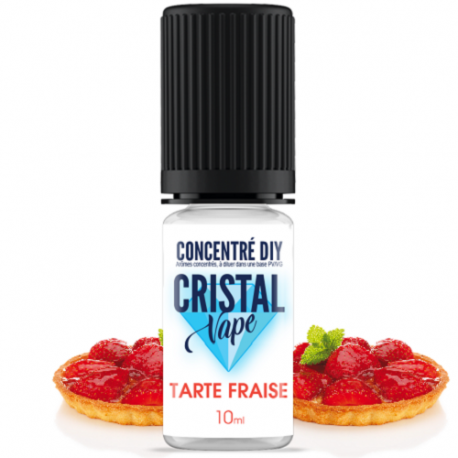 Arôme Tarte fraise - Cristal vape