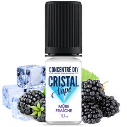 Arôme Mûre fraiche - Cristal vape