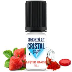 Arôme Mister fraise - Cristal vape