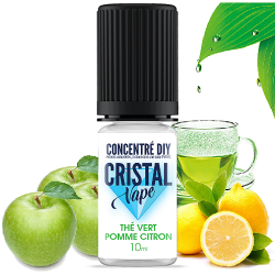 Arôme The vert pomme citron - Cristal vape