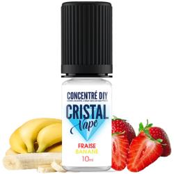 Arôme Fraise banane - Cristal vape
