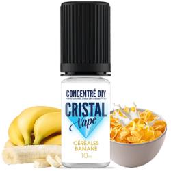 Arôme Céréales banane - Cristal vape