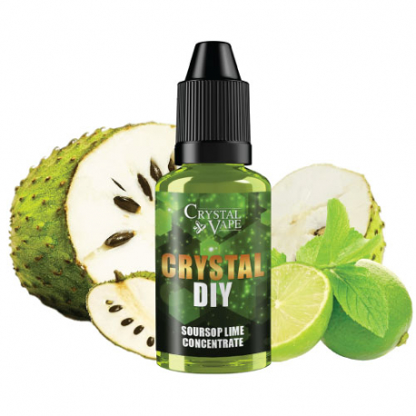 Arôme Soursop lime 30ml - Crystal diy