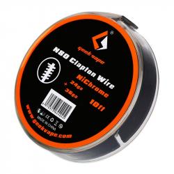 N80 Fused Clapton Wire (24GA + 36GA) - GEEK VAPE