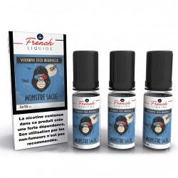 E-Liquide Monstre Sacré Pack de 3 x 10ml - Le French Liquide