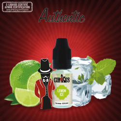 E-liquid Cirkus Lemon Ice - VDLV