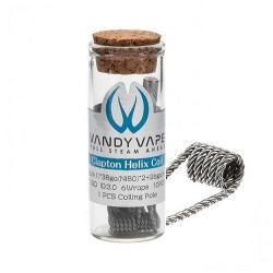 Coil clapton helix - Pack de 10 - Vandy vape