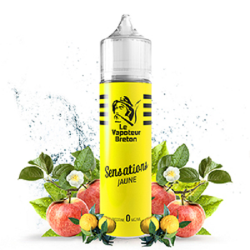 Jaune sensation 50ml - Le vapoteur breton