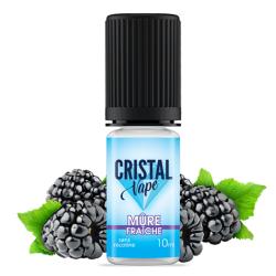 E-liquide Mûre fraîche - Cristal vape