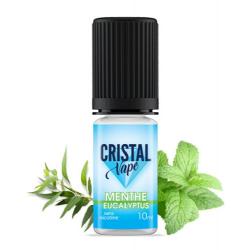 E-liquide Menthe eucalyptus - Cristal vape