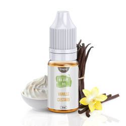E-liquide Vanille Custard - Ma Vape Bio