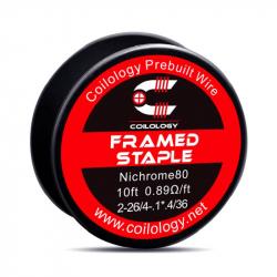 Fil résistif framed staple - Coilology
