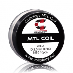Coils préfabriqués MTL - Pack de 10 - Coilology
