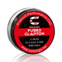 Coils préfabriqués fused clapton - Pack de 10 - Coilology
