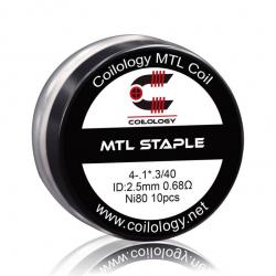 Coils préfabriqués MTL staple - Pack de 10 - Coilology