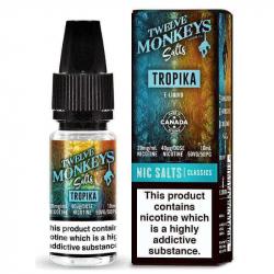 E-liquide tropika salts - Twelve monkeys