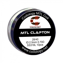 Coils préfabriqués MTL clapton - Pack de 10 - Coilology