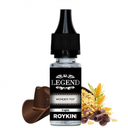 E-liquide Wonder Pop - Legende Roykin